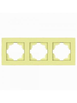 Рамка EL-BI VEGA Colorline зелена 3-на